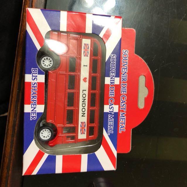倫敦巴士削鉛筆機#狗年發發