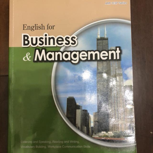 商用英文 business &management