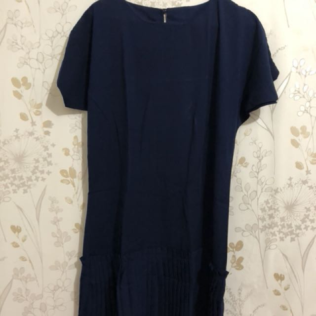 dress navy remple