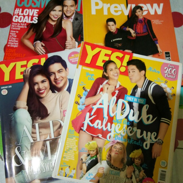 AlDub Magazines