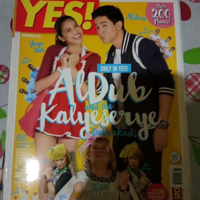 AlDub Yes! Magazine (November 2015)
