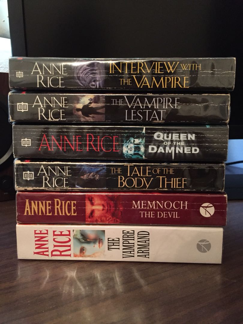 Anne Rice's Interview with a Vampire series (the first 6 books)