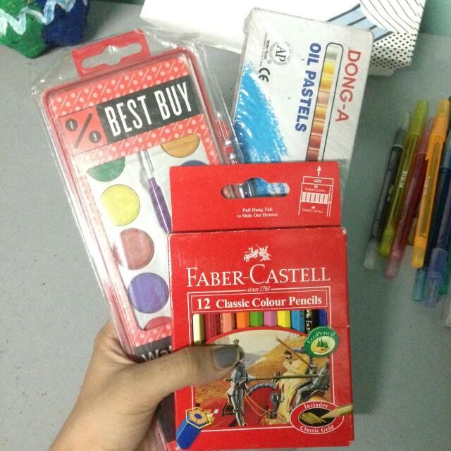 art supplies (set)