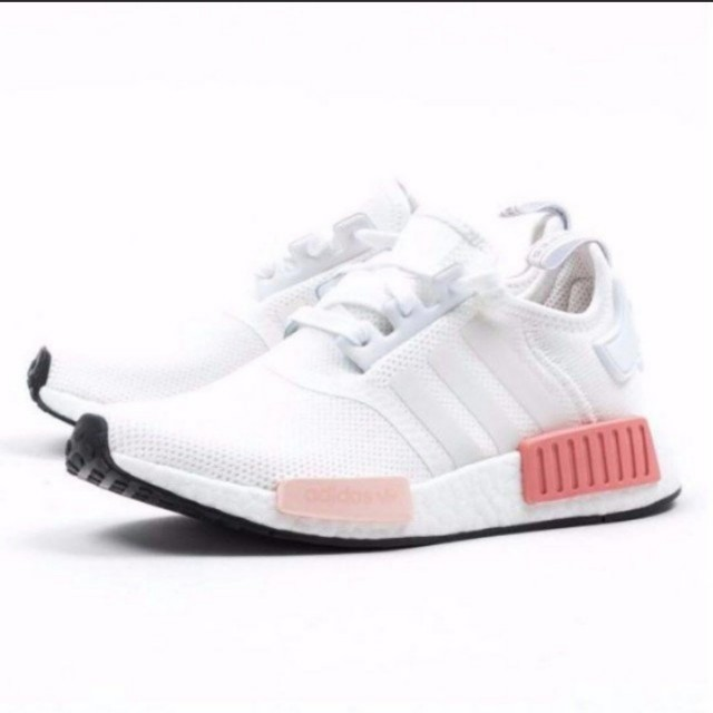 Authentic Adidas NMD R1 rose/white size