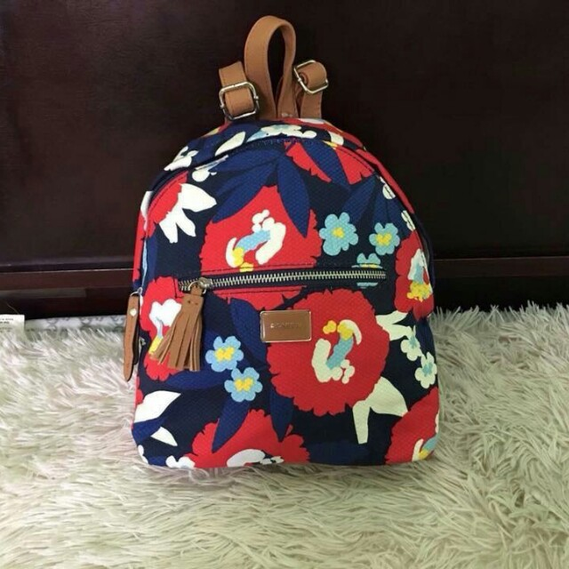 Authentic Rosetti Floral Back Pack