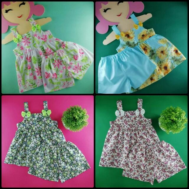 BABY DRESS, BABY TERNO, BLOOMER SET