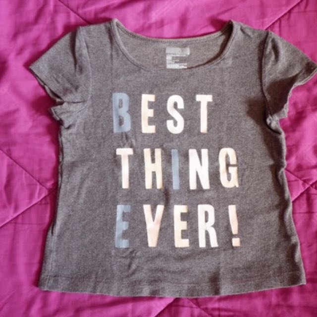 Baby gap statement tshirt