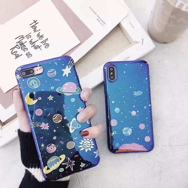 Blu Ray Holo Space Iphone 7+ Case