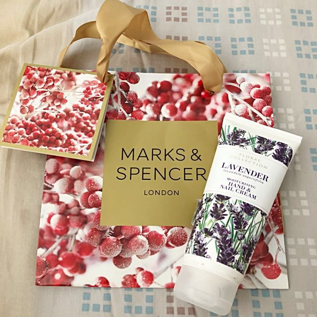 Brand New Auth Marks & Spencer Nail & Hand Cream