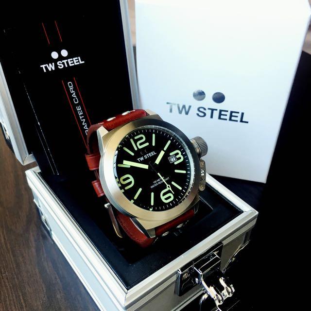 Brand New TW Steel Watch 50mm Canteen - CS22