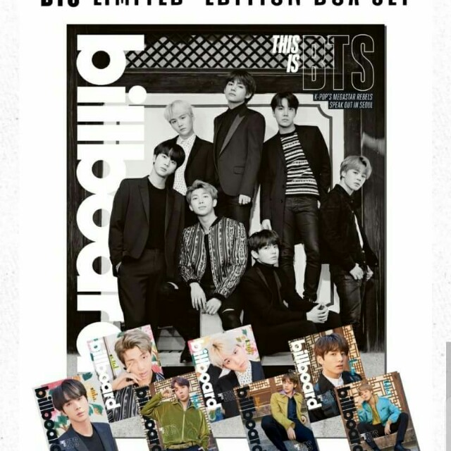 BTS Billboard Magazine Cover Issue