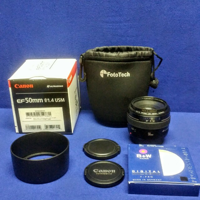 Canon EF 50 mm F1.4 USM lens- like new.. Excellent condition
