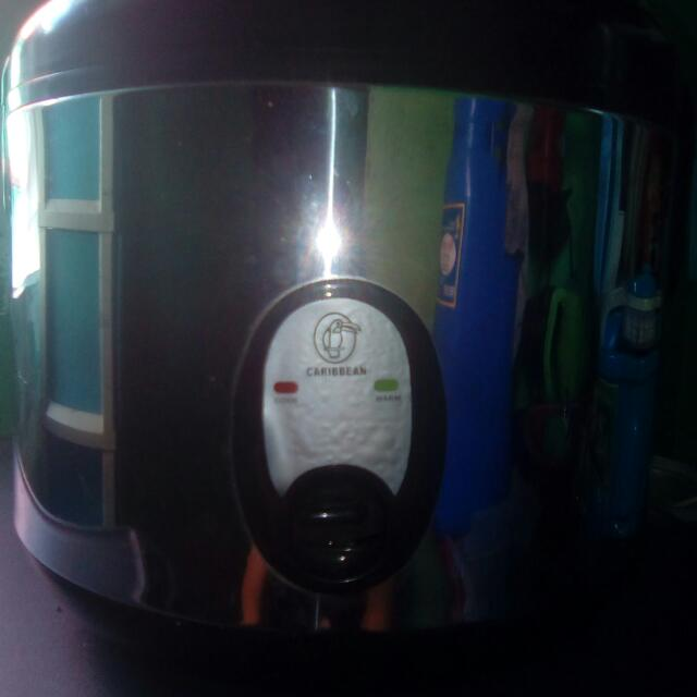 Caribbean Ricecooker With Steamer