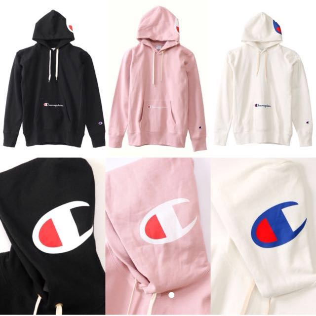 a4adc334 Champion rw printed hooded hoodie, Everything Else on Carousell