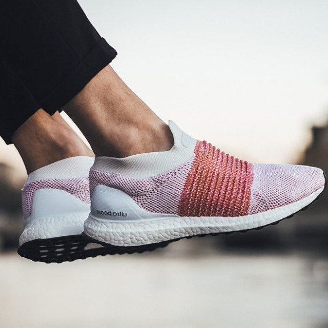CNY STEAL!!) Adidas Ultra Boost Laceless Trace Scarlet f7a068235