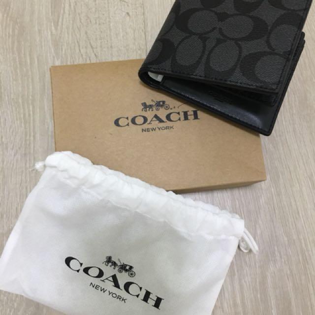 COACH Men Wallet F74993 (New) - Retail Price S$175