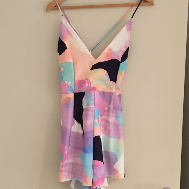 Colourful Playsuit