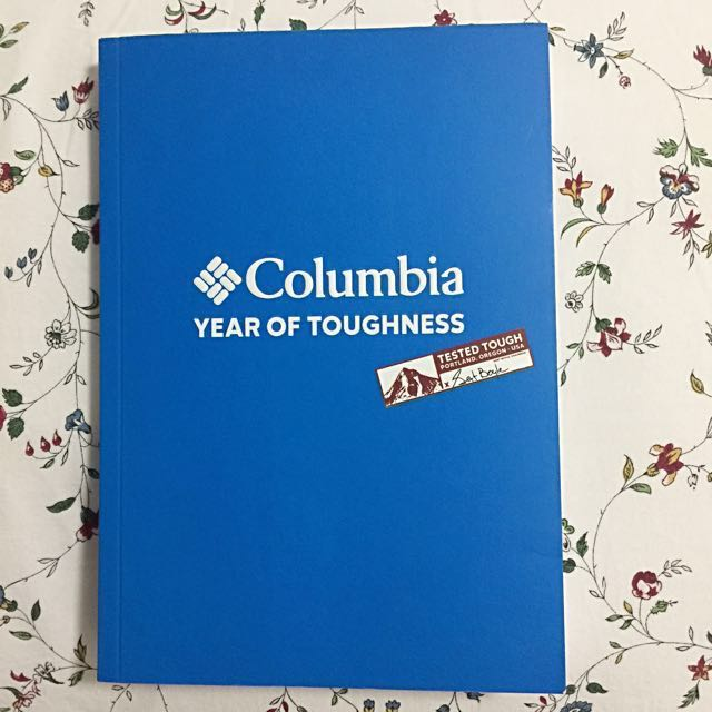 Columbia 2018 Planner/Travel Itinerary/Notebook