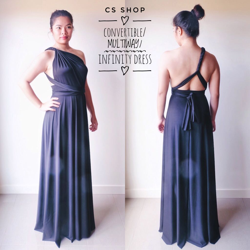 Convertible/Multiway/Infinity Maxi Dress
