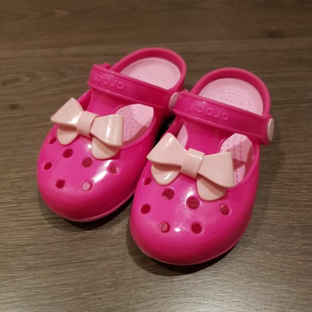 crocs 小瑪莉珍鞋 布希鞋