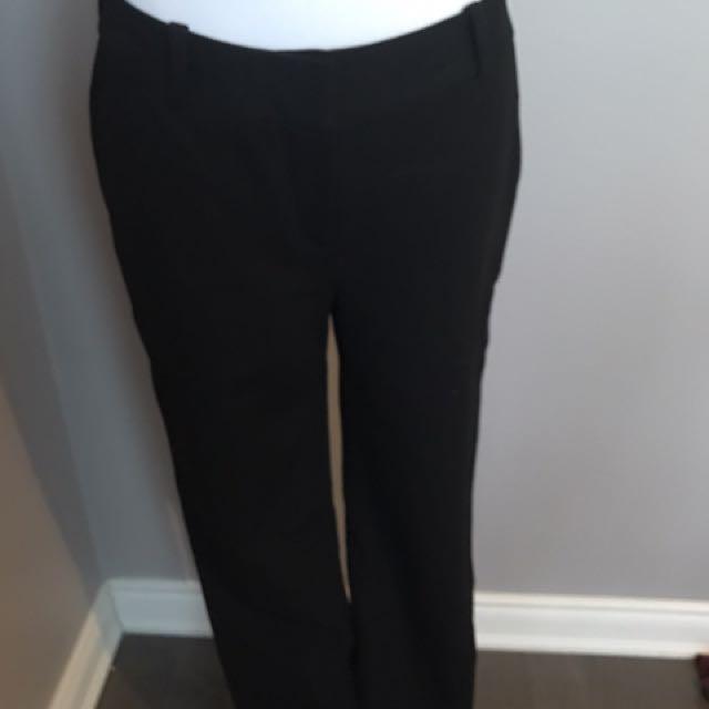 Diane Von Furstenberg black dress pants
