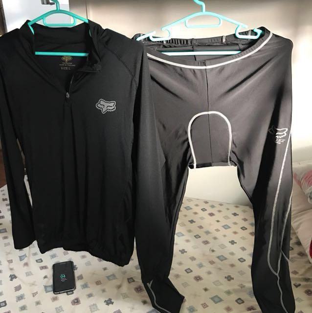 Dri fit shirt and leggings
