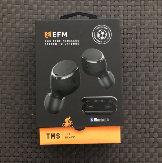 EFM TWS True Wireless Stereo HD Earbuds