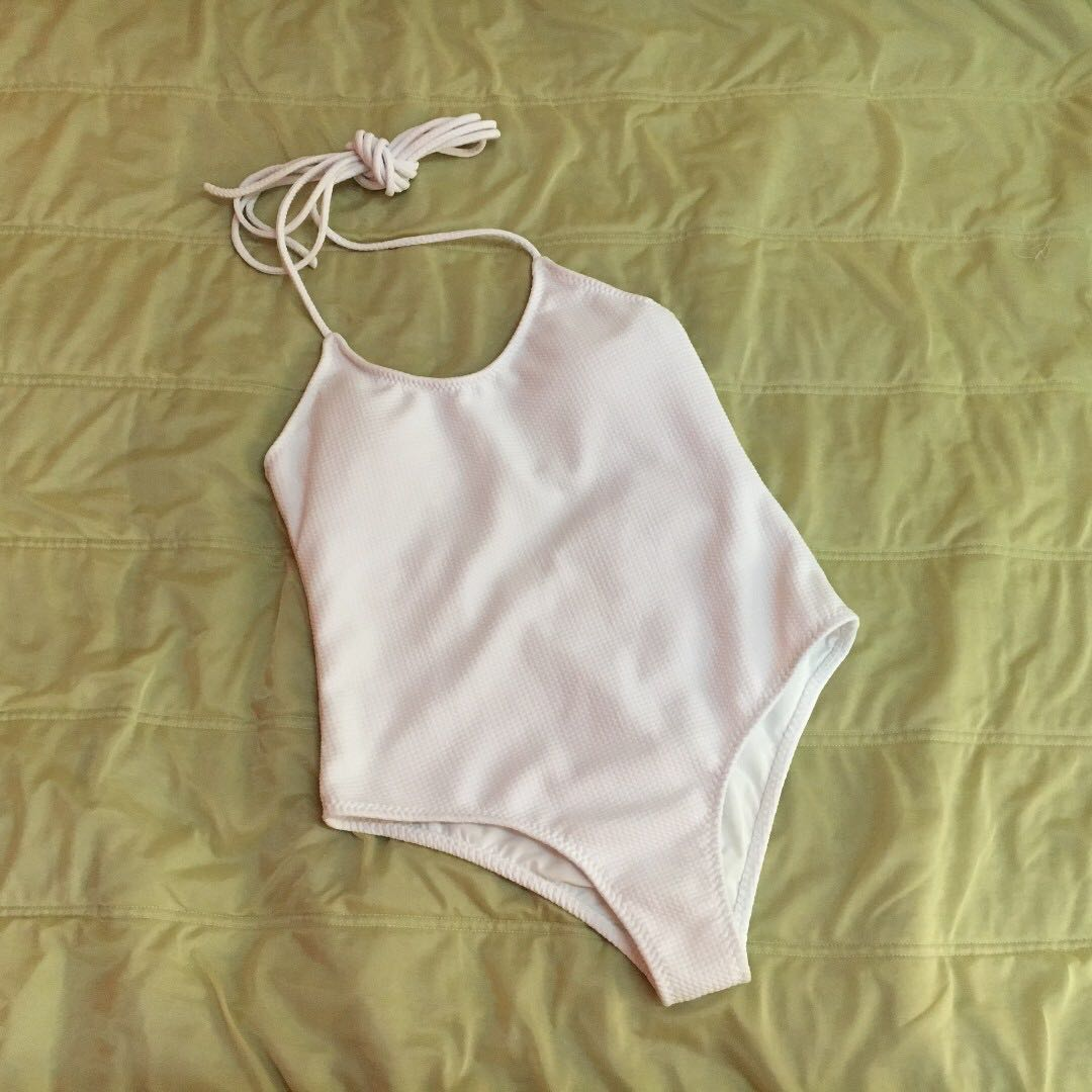 Eighthmermaid White Lilo Lace One Piece Swimsuit