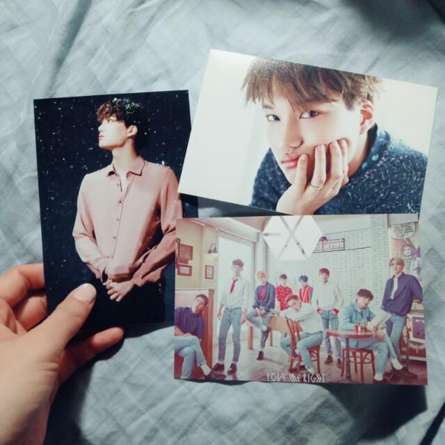 EXO自製小卡相片卡 #新春八折