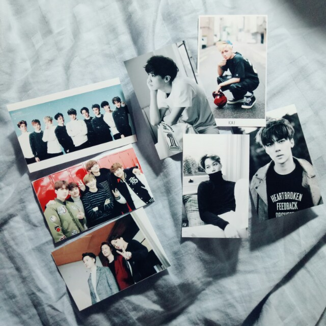 EXO 自製小卡相片卡 #新春八折