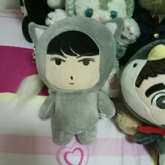 Exo Sehun Fox Doll