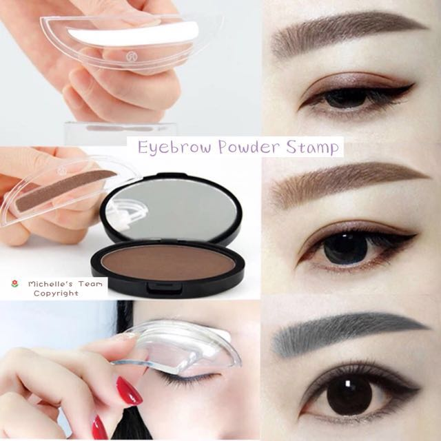 Eyebrows Powder Stamp Health Beauty Makeup On Carousell