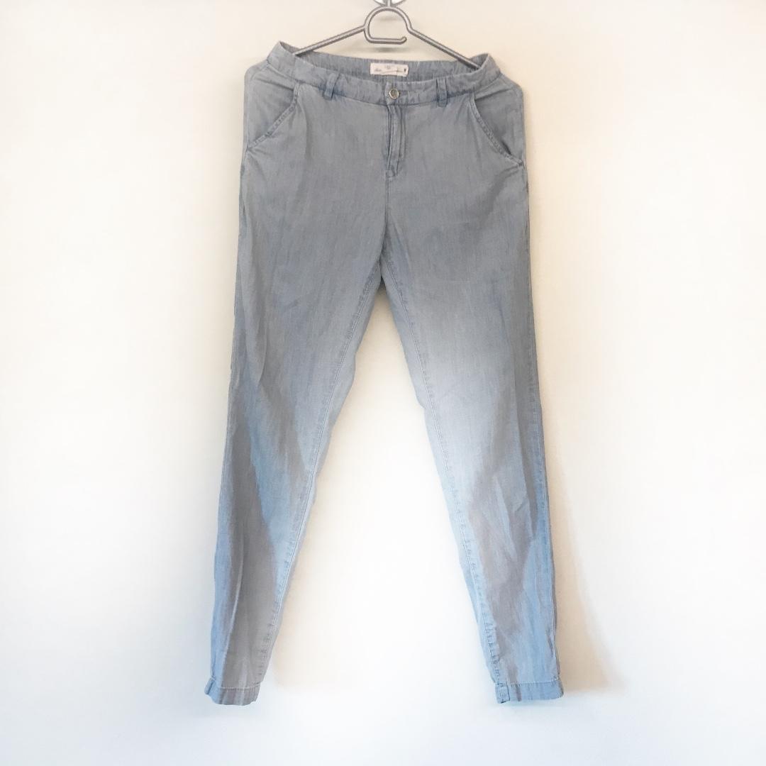 Faded jeans, but not faded feelings