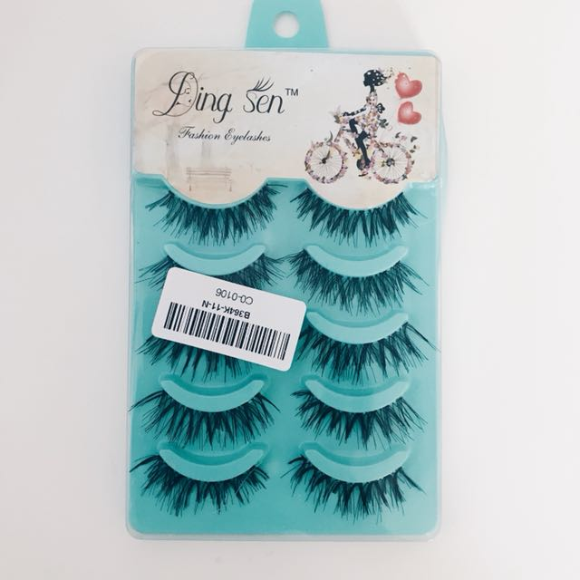 False Eyelashes (5 Pack)