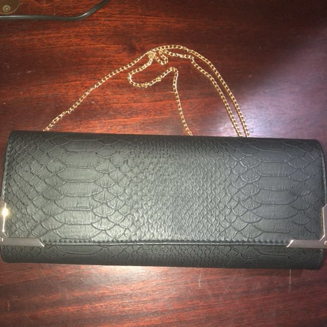 FREE for any of my MK item you buy Faux Croc Skin Clutch bag with sling