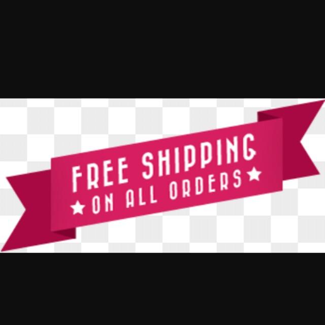 FREE SHIPPING STILL SUNDAY
