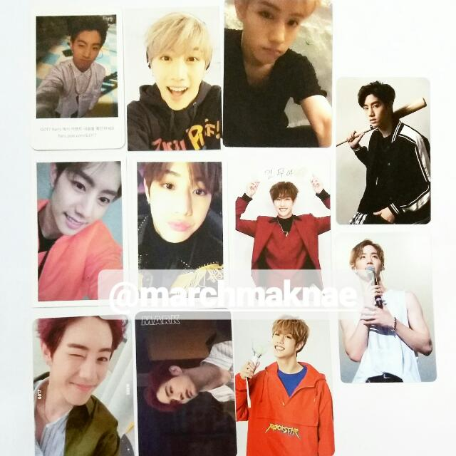 GOT7 (MARK) ALL OFFICIAL PHOTOCARD COLLECTION