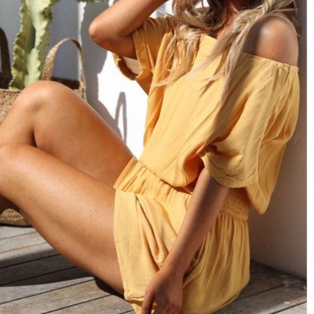 Gretty Rose The Label Playsuit