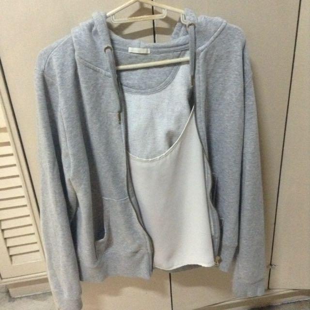 GU Gray Jacket