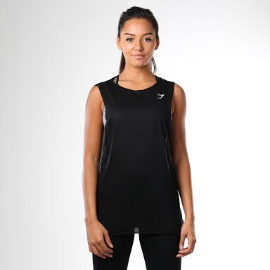 GYMSHARK Empower Vest Tank Top size S POSTAGE INCLUDED