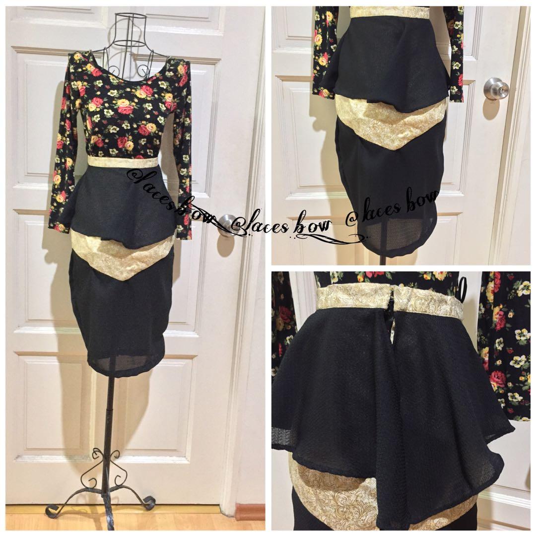High Waist Midi Skirt