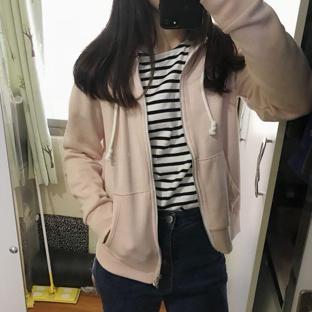 H&M 粉色外套