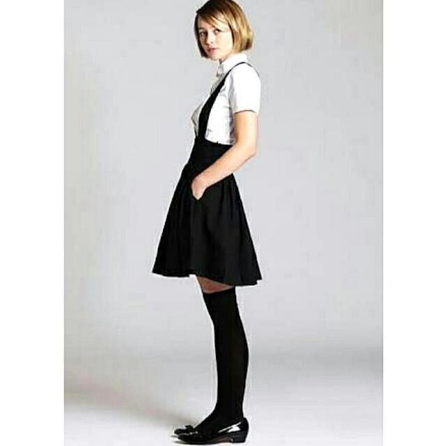 H&M Black Jumper Skirt