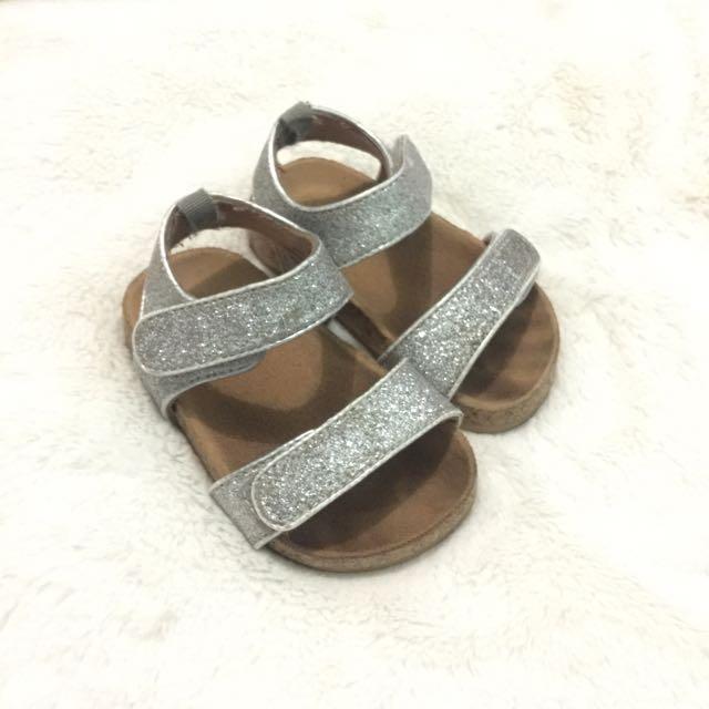 H&M metallic sandals