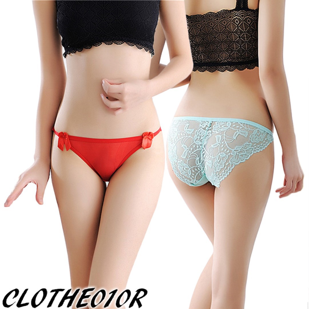 ab15627e364 Sexy lace bikini panties lingerie undergarment underwear briefs for girl  lady woman, Women's Fashion, Clothes, Others on Carousell