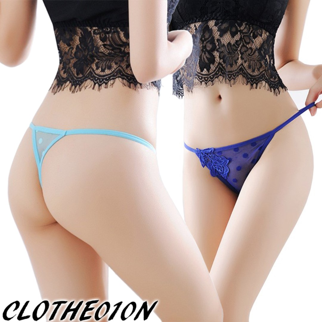 088eb992314b Sexy lace G-string panties lingerie undergarment underwear briefs for girl  lady woman, Women's Fashion, Clothes, Others on Carousell