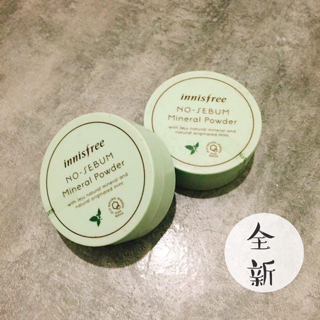 innisfree 天然草本礦物控油蜜粉
