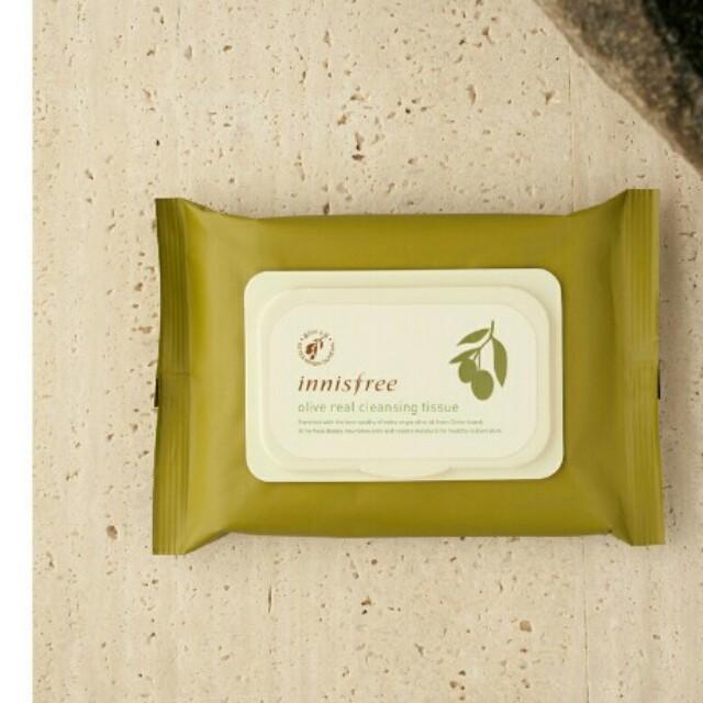Innisfree 橄欖精華卸妝紙巾 30p