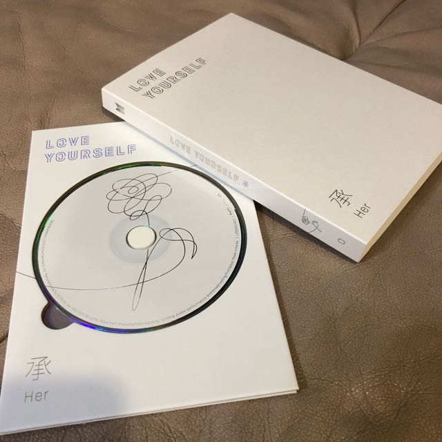 [INSTOCKS!] BN BTS Unsealed Love Yourself Items