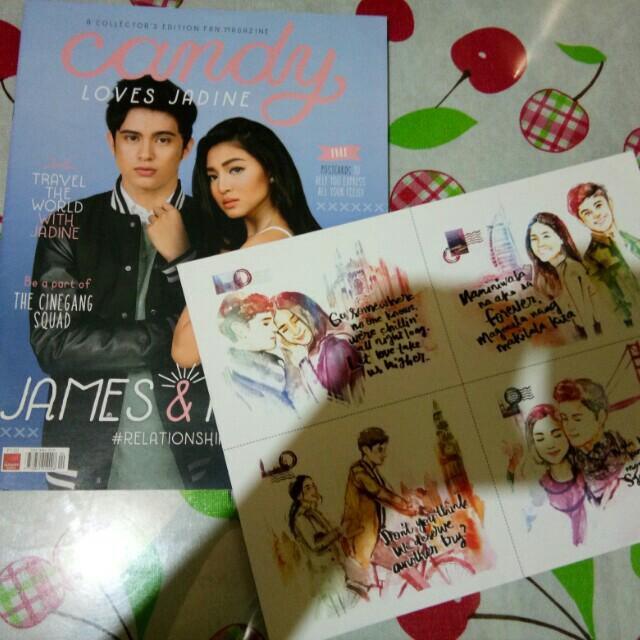 JaDine Candy Magazine ( May 2016 )